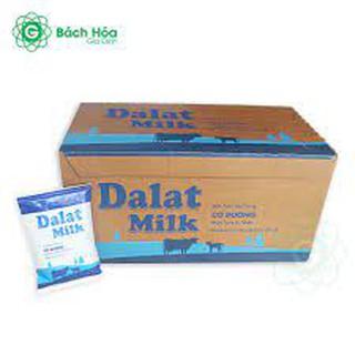 Sữa tươi tiệt trùng dalatmilk 220ml (48 bịch) 5.0