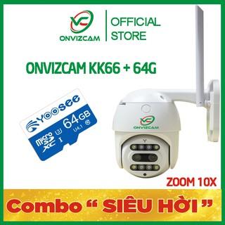 [combo siêu hời] Camera KK66 hãng ONVIZ siêu zoom 10X mẫu mới bảo hành 12 tháng thumbnail
