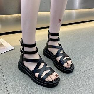 [Mã FAMAYWA giảm 10k đơn từ 50k] (VIDEO) Sandal nữ thời trang quai trơn chiến binh siêu hót TREND cao cấp