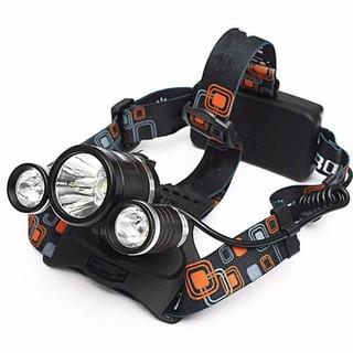 [Có sẵn] Đèn pin đội đầu 3 bóng C'MON POWER 3 LED siêu sáng