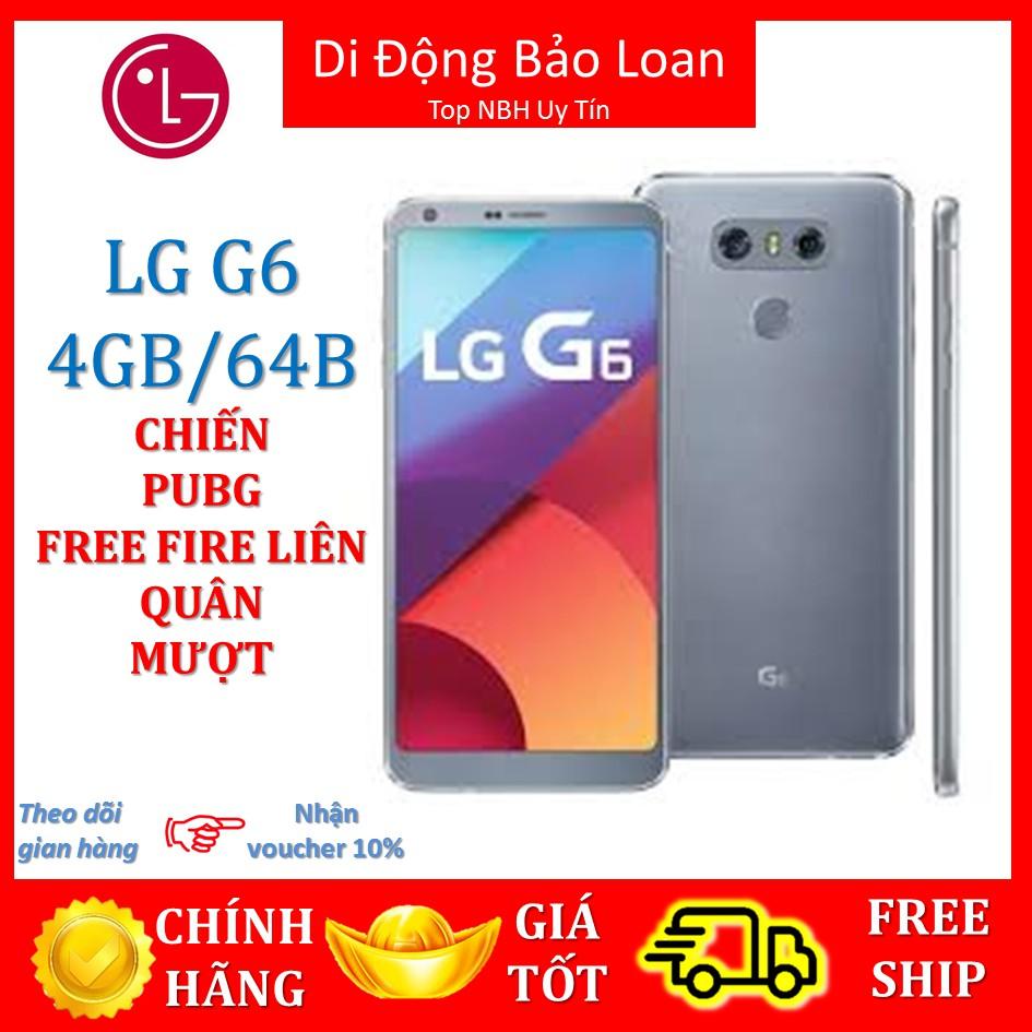 điện thoại LG G6 (NHIỀU MÀU) ram 4G/32G mới, chơi Game PUBG/LIÊN QUÂN MƯỢT