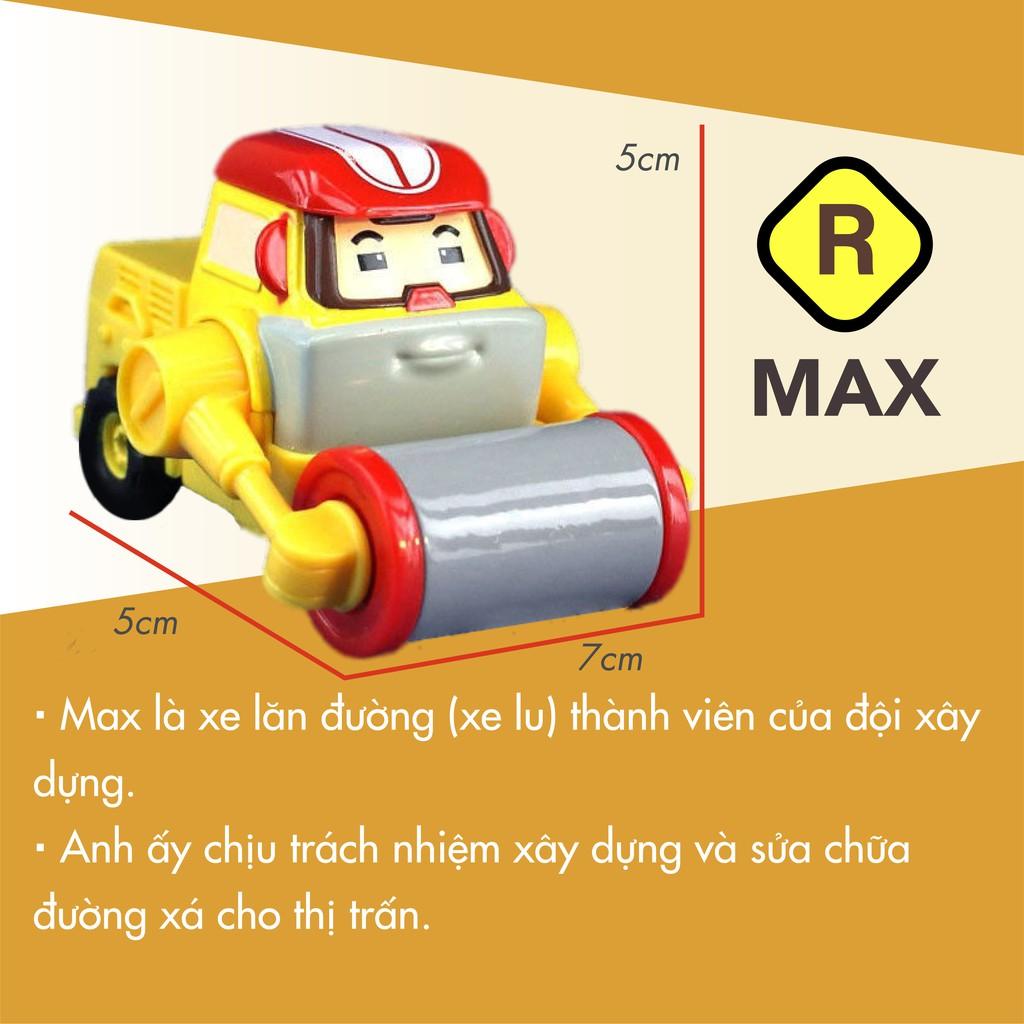 Xe ô tô đồ chơi mẫu 8 xe Poli chạy trớn bằng nhựa tặng kèm trứng biến hình khủng long cho bé - Đồ khuyến mãi giá tốt