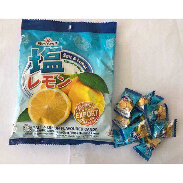 Kẹo chanh muối Hàn Quốc 120g (Xuất xứ Malayaia)