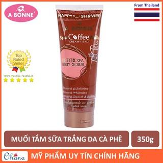 Muối Tắm Sữa Spa A Bonne Cà Phê Làm Trắng Da, Tẩy Tế Bào Chết A Bonne Spa Coffee Milk Creamy Salt 350g (Tuýp) thumbnail