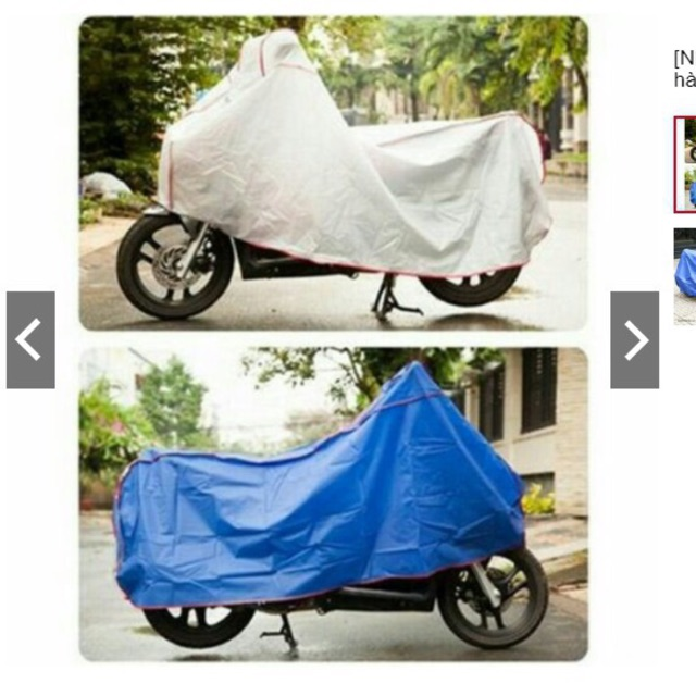 Bạt phủ bảo vệ chống mưa, nắng cao cấp dành cho xe máy - 3527224 , 1319323341 , 322_1319323341 , 66000 , Bat-phu-bao-ve-chong-mua-nang-cao-cap-danh-cho-xe-may-322_1319323341 , shopee.vn , Bạt phủ bảo vệ chống mưa, nắng cao cấp dành cho xe máy