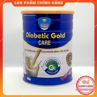 Sữa Tiểu đường Diabetic Gold Care HALANMILK 400gr-900gr-[Chính Hãng]- Dinh dưỡng đặc biệt cho người Tiểu đường