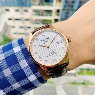 Đồng hồ cơ cao cấp cho nam Tissot Automatic Gold Luxury 1853 thumbnail