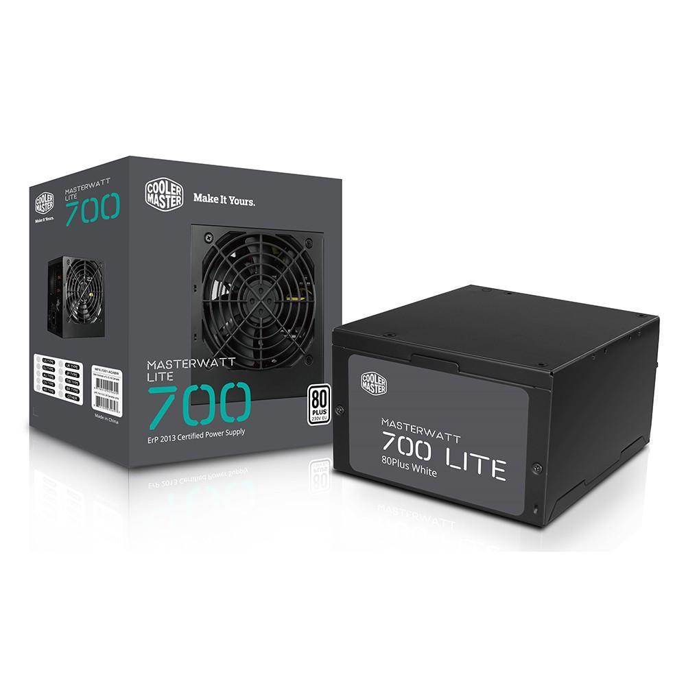 Nguồn máy tính / PSU Cooler Master Masterwatt Lite – 700W – 80 Plus White Giá chỉ 1.850.000₫