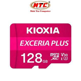 Thẻ nhớ MicroSDXC Kioxia Exceria Plus 128GB U3 4K V30 A1 R100MB/s W65MB/s (Tím)