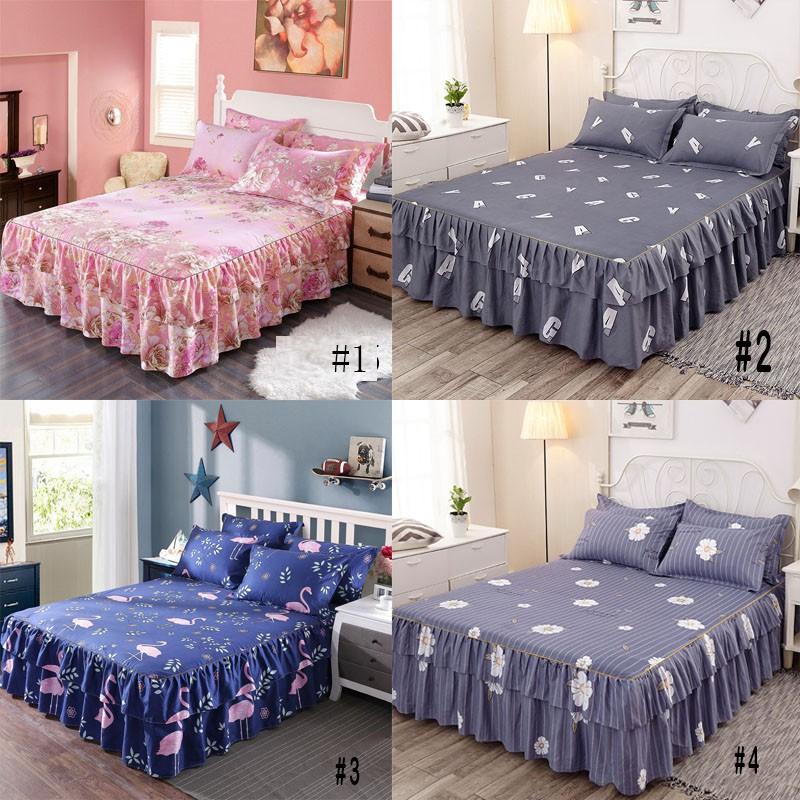 bộ ga và vỏ gối Set ga giường kèm 2 áo gối 3 trong 1 kích thước 150*200cm/180*200cm/200*200 tiện dụng
