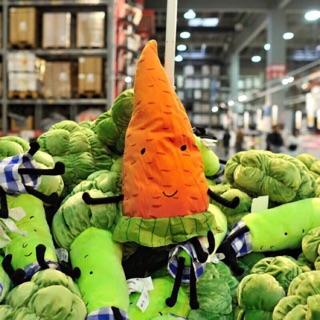 Gối ôm ikea cà rốt cho bé ôm 100% Indonesia mới