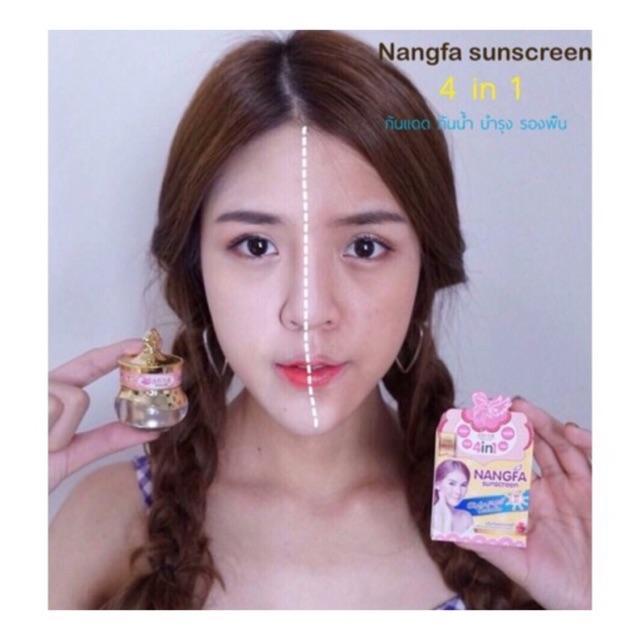 Kem chống nắng che khuyết điểm SPF50 Nangfa hot hit