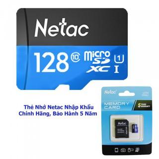 Thẻ Nhớ Netac U1 Dung Lượng 128 GB - Chính Hãng - Bảo Hành 5 Năm