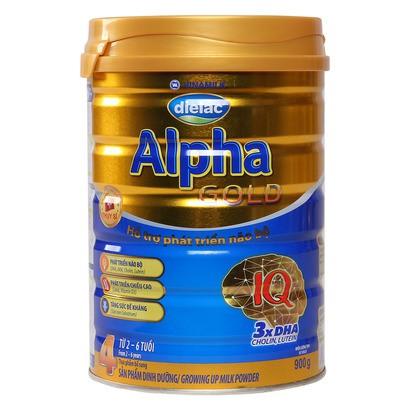 (Nhập TKB1806 giảm 3%) Sữa dielac alpha gold 4 900g HSD:2019