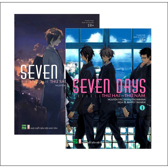 Sách - Truyện Tranh Đam Mỹ - Combo Seven Days (Trọn Bộ 2 Tập)