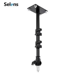 Giá treo đèn trần cho studio chụp ảnh Selens 2 khớp điều chỉnh được 103cm thumbnail