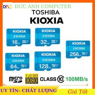 [Mã ELFLASH3 hoàn 10K xu đơn 20K] Thẻ nhớ Kioxia (Toshiba) Micro SDHC 16GB 32GB 64GB C10 UHS-I 100MB/s - FPT phân phối