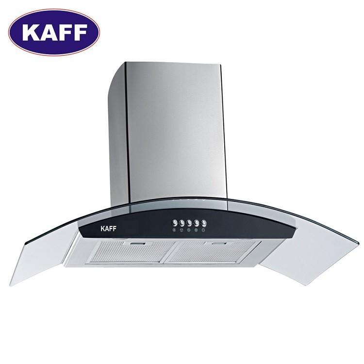 Máy hút khói khử mùi kính cong 7 tấc Kaff KF-GB706 (KF-GB705)