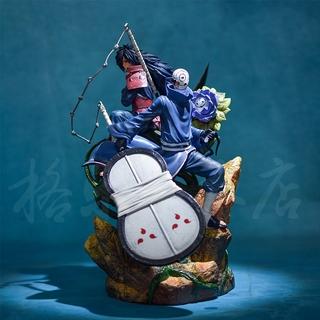 Mô hình Naruto – Mô hình Uchiha Obito và Madara tái sinh 40cm N043