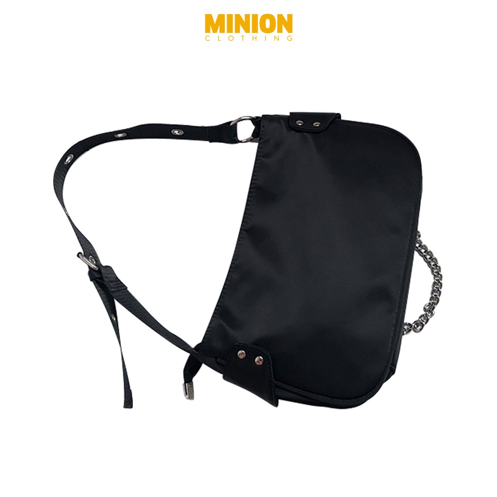 Túi kèm xích Minion Clothing đeo 1 bên, dáng Unisex, phong cách Ulzzang Streetwear T2703