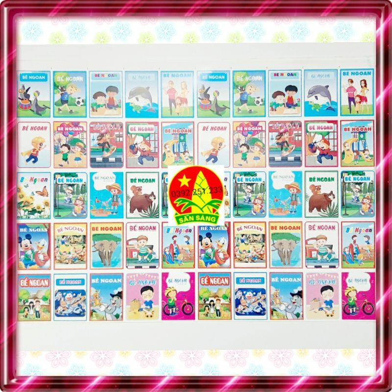 Phiếu bé ngoan 1 tờ 50 hình loại đẹp tại Hà Nội