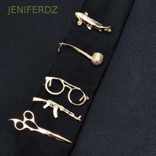 JENIFERDZ Wedding 1 Piece|Metal Key Shape Gifts for Men Tie Clip
