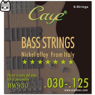 CAYE BW Series 4/5/6 pcs Bass Strings