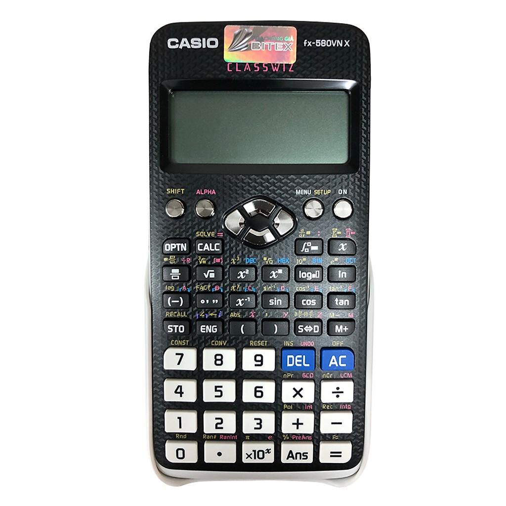 [Máy tính Casio FX 580VN X Hàng chính hãng bảo hành 7 năm casio 580vnx