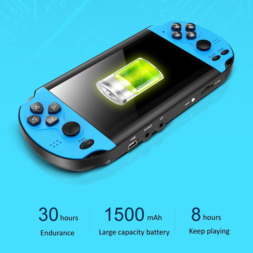 Máy chơi game cầm tay X7 màn hình 4.3 inch 8gb