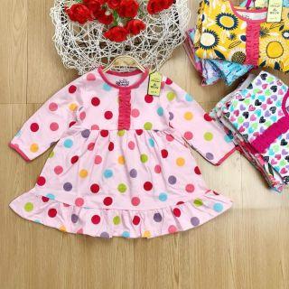Váy thu đông 🍭FREESHIP🍭Váy thu đông bánh bèo siêu xinh cho bé gái