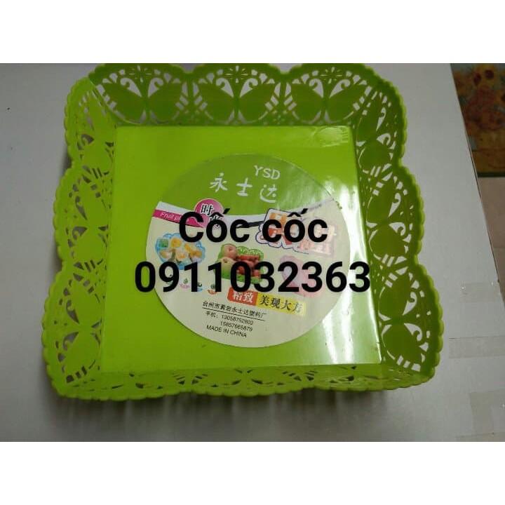 Rổ nhựa vuông - 15363678 , 1789123844 , 322_1789123844 , 13000 , Ro-nhua-vuong-322_1789123844 , shopee.vn , Rổ nhựa vuông