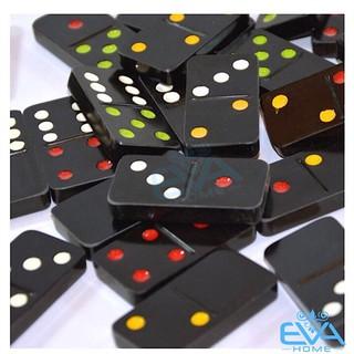 Hộp Cơ Domino Đen Cao Cấp