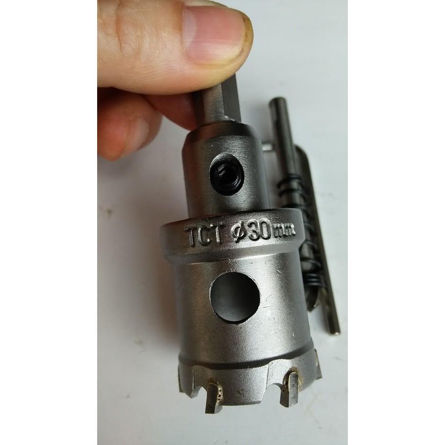 Mũi khoét Inox, sắt đầu hợp kim TCT Nhật Chuyên dụng 21-30