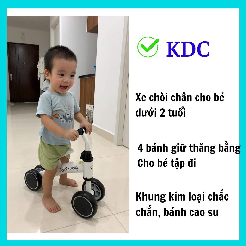 Xe chòi chân KDC Bốn Bánh Thăng Bằng Tăng Cường Vận Động Tập Đi Cho Bé từ 1 đến 2 tuổi Xiaolexiong   Happybaby