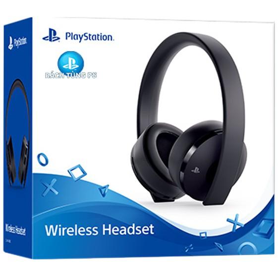 Tai nghe PS4 Wireless 7.1 Headset phiên bản mới 2018