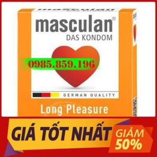 Bao Cao Su Gân, Gai, Kéo Dài Thời Gian Quan Hệ Masculan Long Pleasure Hộp 3 thumbnail