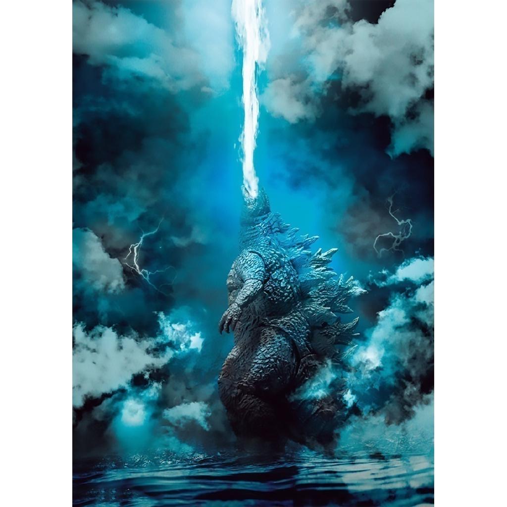 Bộ 2 Mô Hình Nhân Vật Godzilla Xinh Xắn