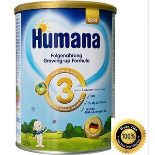 Sữa công thức Humana Gold số 3 - 350g Đức nhập khẩu (ĐẢM BẢO CHECK MÃ CHUẨN)