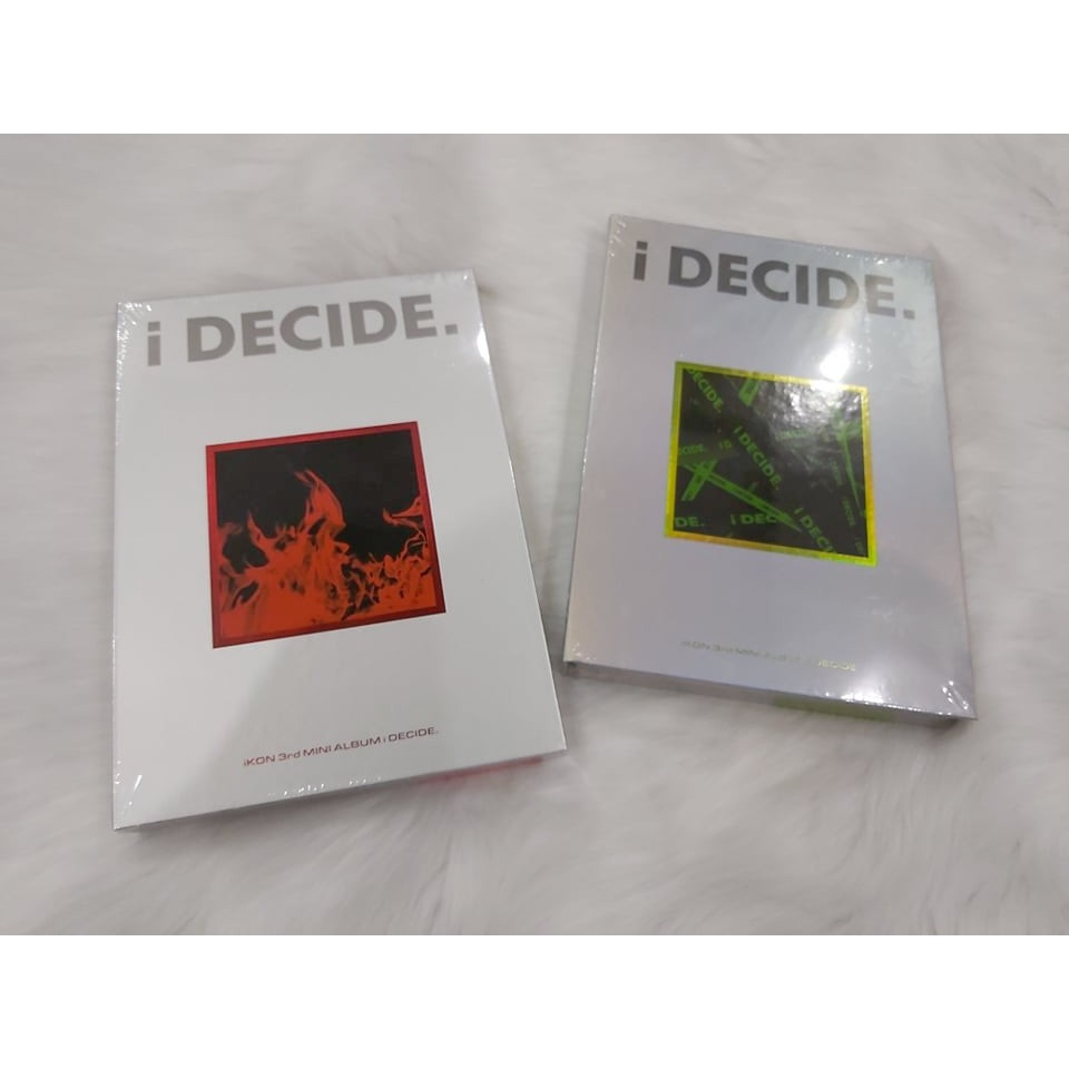 [ Có Sẵn ] Album iKON - i Decide - kpop album