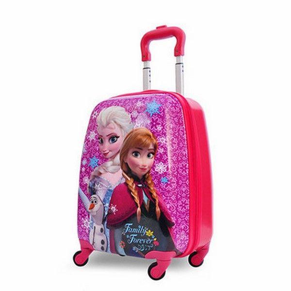 Vali cần kéo ABS siêu cute cho bé – mẫu Frozen