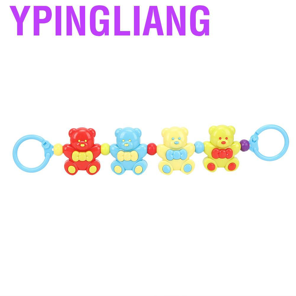 Ypingliang Baby Rattles Moderate size lightweight Small Hand cute animal shapes Easter gifts for home Christmas birthday Halloween