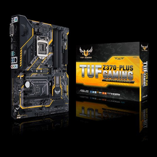 ASUS TUF Z370-PLUS GAMING BO MẠCH CHỦ GAMING Intel® LGA 1151 ATX