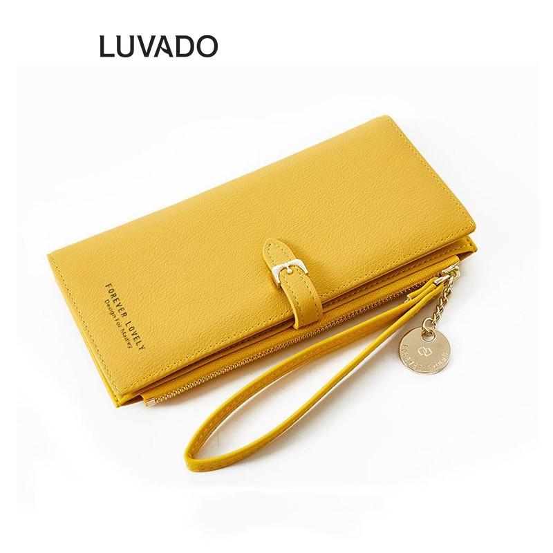 Ví nữ cầm tay đẹp MADLEY thời trang cao cấp nhiều ngăn đựng tiền LUVADO VD212