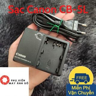 SẠC CANON CB-5L Cao Cấp Tự Ngắt Dùng cho máy Canon 10D, 20D, 30D, 40D, 50D, 5D