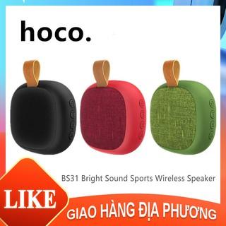 Loa Bluetooth thể thao Hoco BS-31 Sonic Loa siêu trầm Bluetooth không dây mới