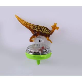 Đồ chơi con quay khủng long phát sáng