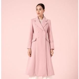 Áo măng tô hồng gấu tay lơ vê Elise FW2011053OCWOPK thumbnail