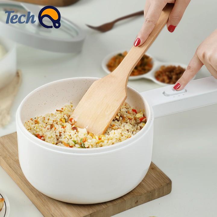 Nồi điện đa năng cao cấp, chảo điện nấu lẩu gia dụng đa năng dung tích 1.5 lít - BH 12 tháng