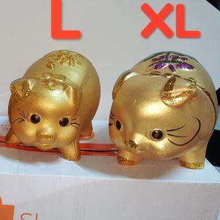 Heo Vàng Nhũ Kim Tuyến Size L,Size XL