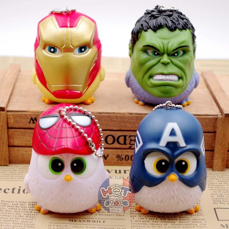 Móc khóa gà con Marvel Avengers Civil War 7cm